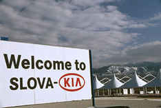 Kia Motors plant in Slovakia is one of the leaders of the Slovak car industry